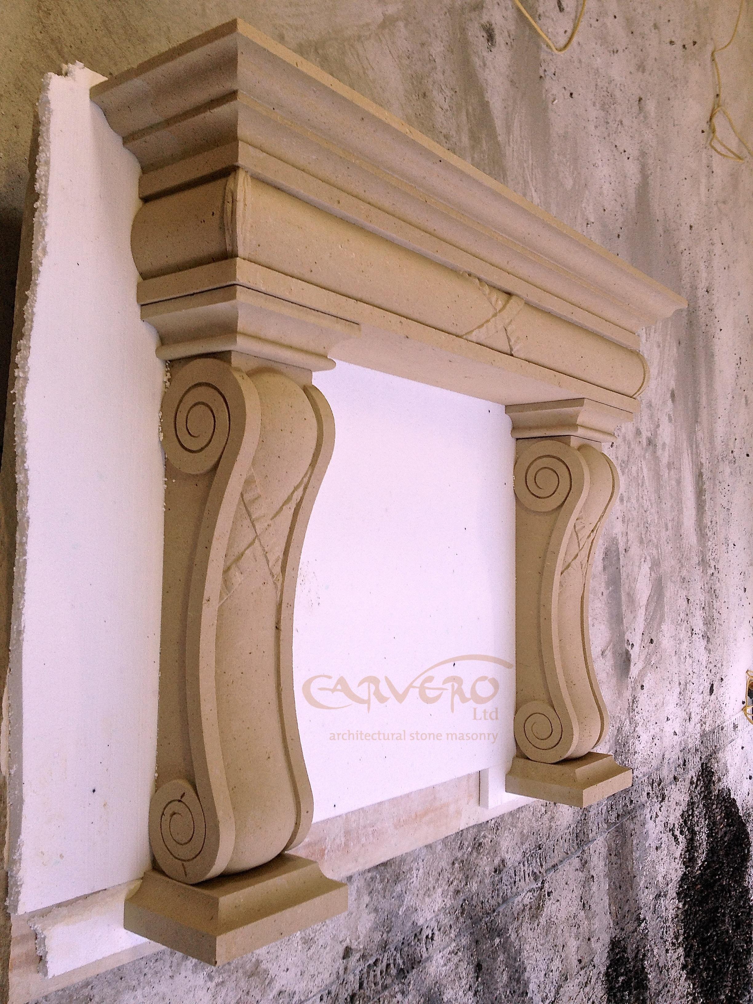Bespoke Stone Fireplace Surrounds From Carvero Stonemasonry Carvero