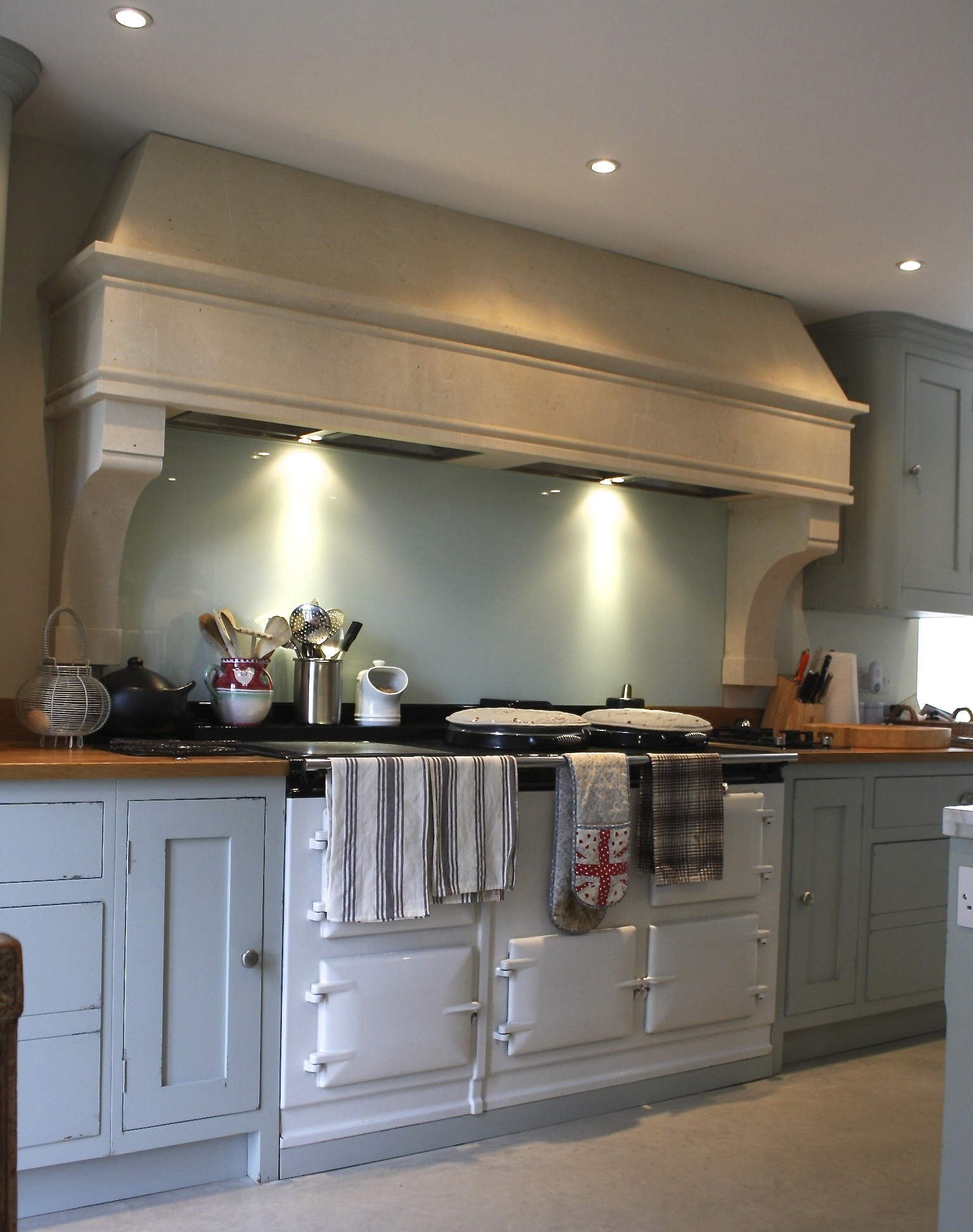 Only some finishing touches to be done by the painters and it will be ready for the photo shoot for ELLE DECOR (US) in its full glory. & Latest Product Addition: A Country Kitchen Stone Canopy - AGA ...