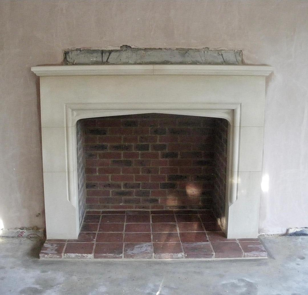 stone fireplace Leicester