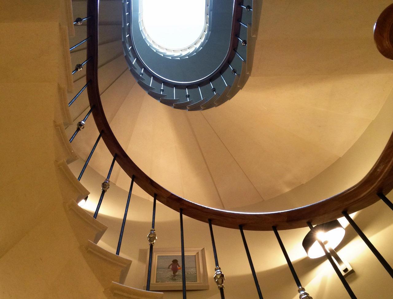 stone staircase London