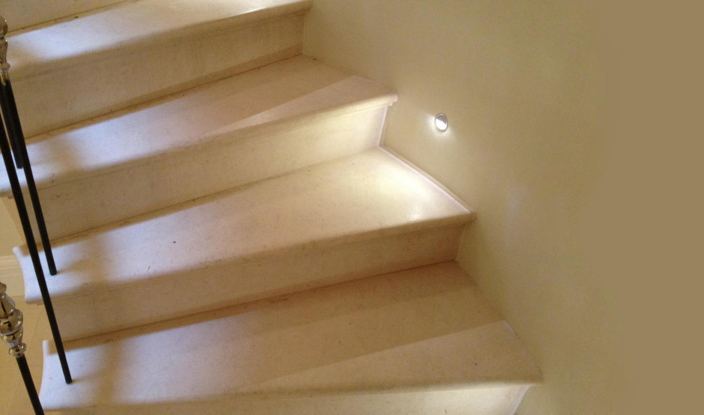 stone staircase Leicester