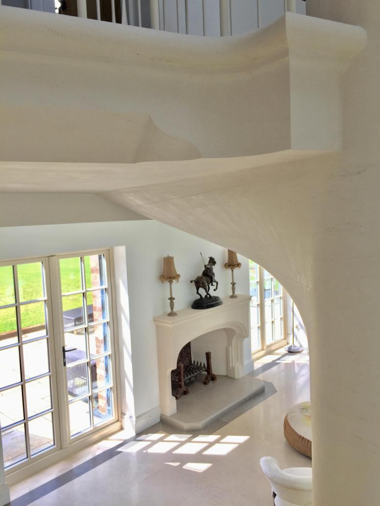 spiral stone stairs, staircase, spiral staircase