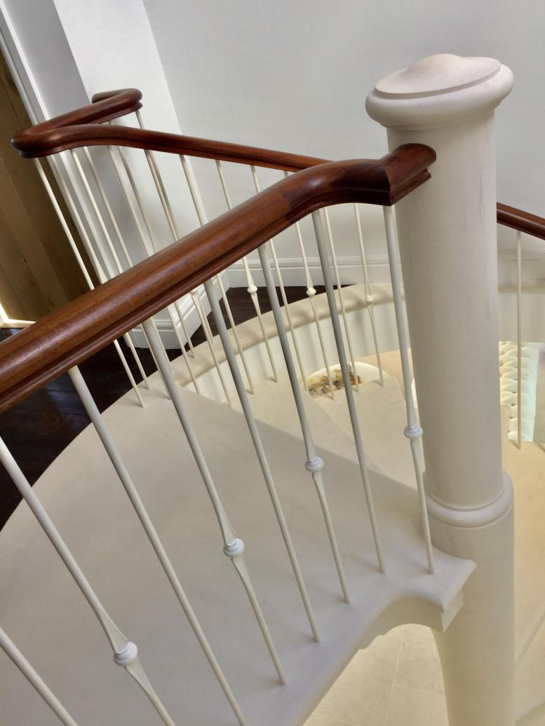 spiral stone stairs, staircase