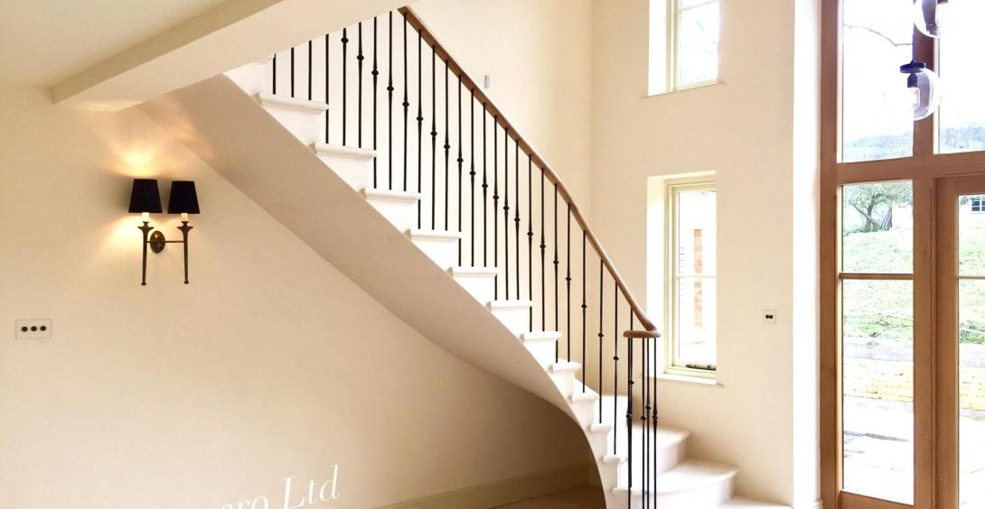Beautiful stone staircases