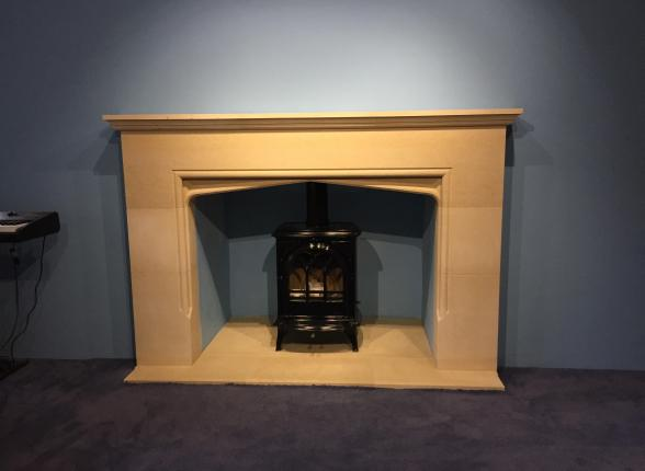 stone fireplace, mantel piece