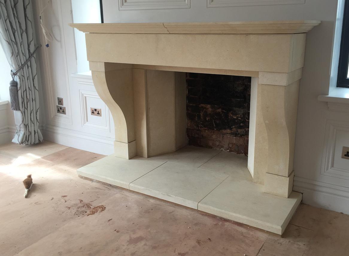stone fireplaces carvero